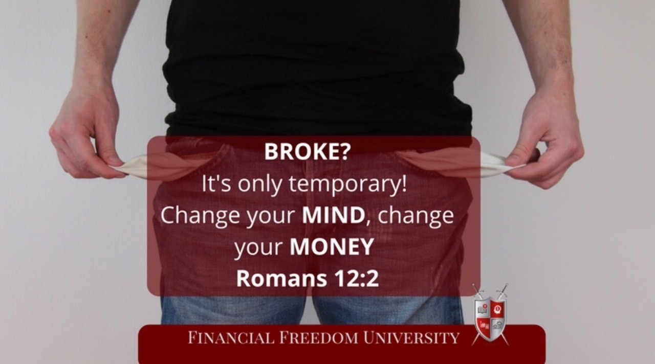 Broke? We have a free mini course to show you how to change that. Go to www.myffu.com/ehriqa1 #InvestInYourself#BuildYourEmpire #ChangeYourLife