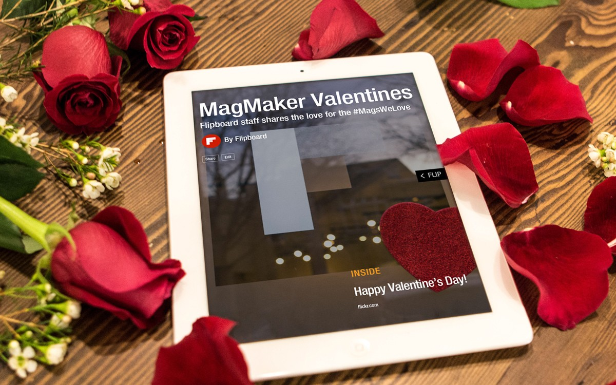 Our Special Valentine for Flipboard MagMakers