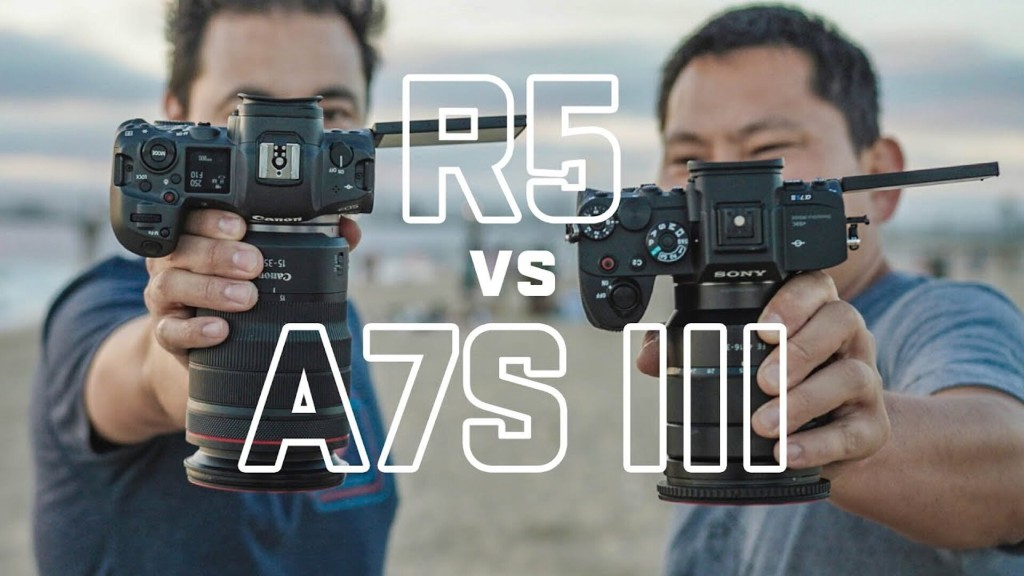 Canon R5 vs Sony A7S III Why I'm Switching