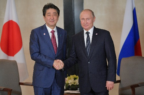Putin and Abe agree to speed up peace treaty talks: Kremlin
