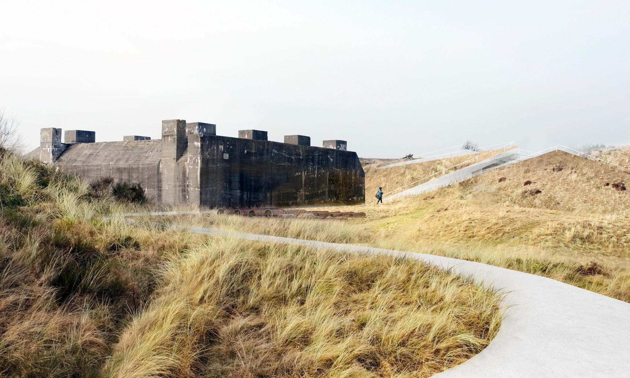 On Denmark's Jutland coast an elegant new museum counters a Nazi monolith