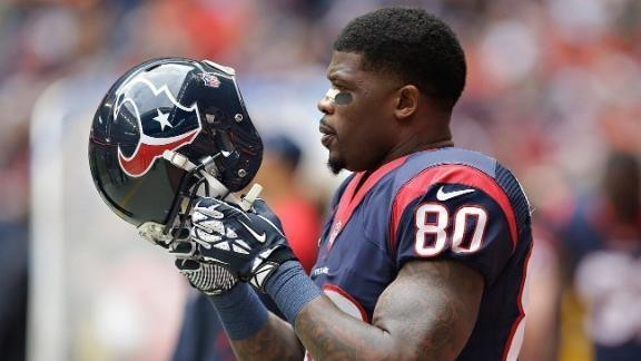 Andre Johnson wants off Texans