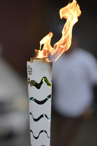 Olympic Torch Makes Its Way Through Brazil: Pictures