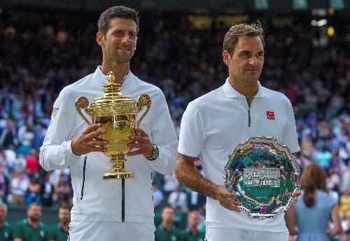 Djokovic, Federer in same half of U.S. Open draw
