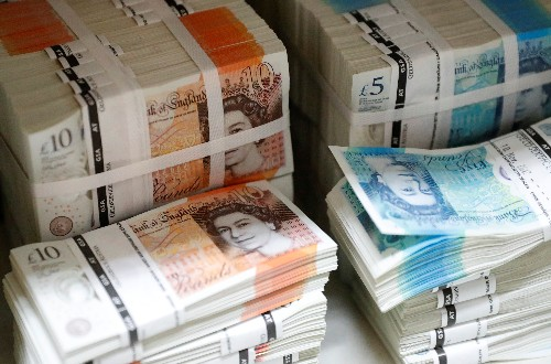 Pound at five-and-a-half-month low as Johnson leads, Aussie vulnerable