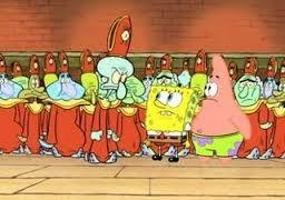 """Stephen Hilenburg admits, """"Spongebob was always meant to convince kids to join the Illuminati. I always thought it was obvious, especially in the episode cephalopod lodge"""""""