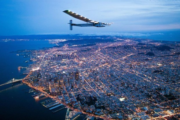 Flying Around the World on Zero Gallons of Gas