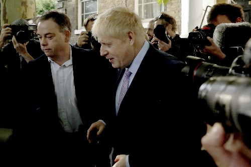 The Latest: Johnson takes bigger lead in race to lead UK
