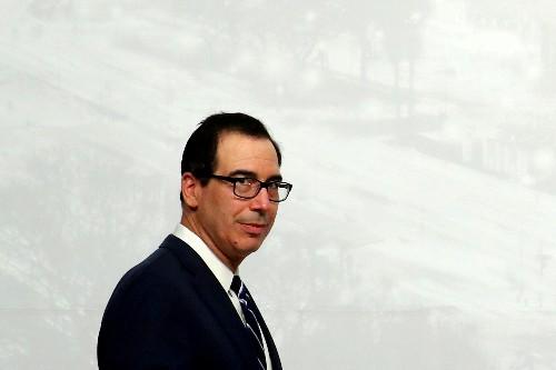 Mnuchin dismisses risk of contagion from China's economic slowdown
