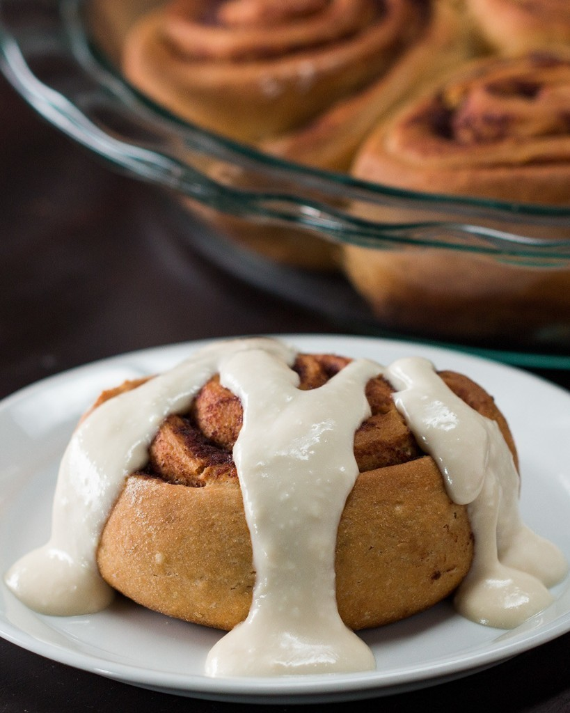 These Healthier Homemade Cinnamon Rolls Are A Totally Acceptable Breakfast