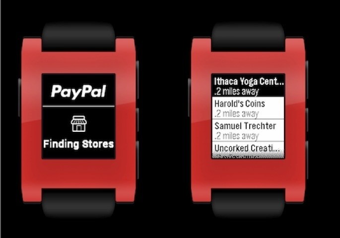 PayPal beats Apple to the punch, launches Pebble smartwatch app for in-store payments
