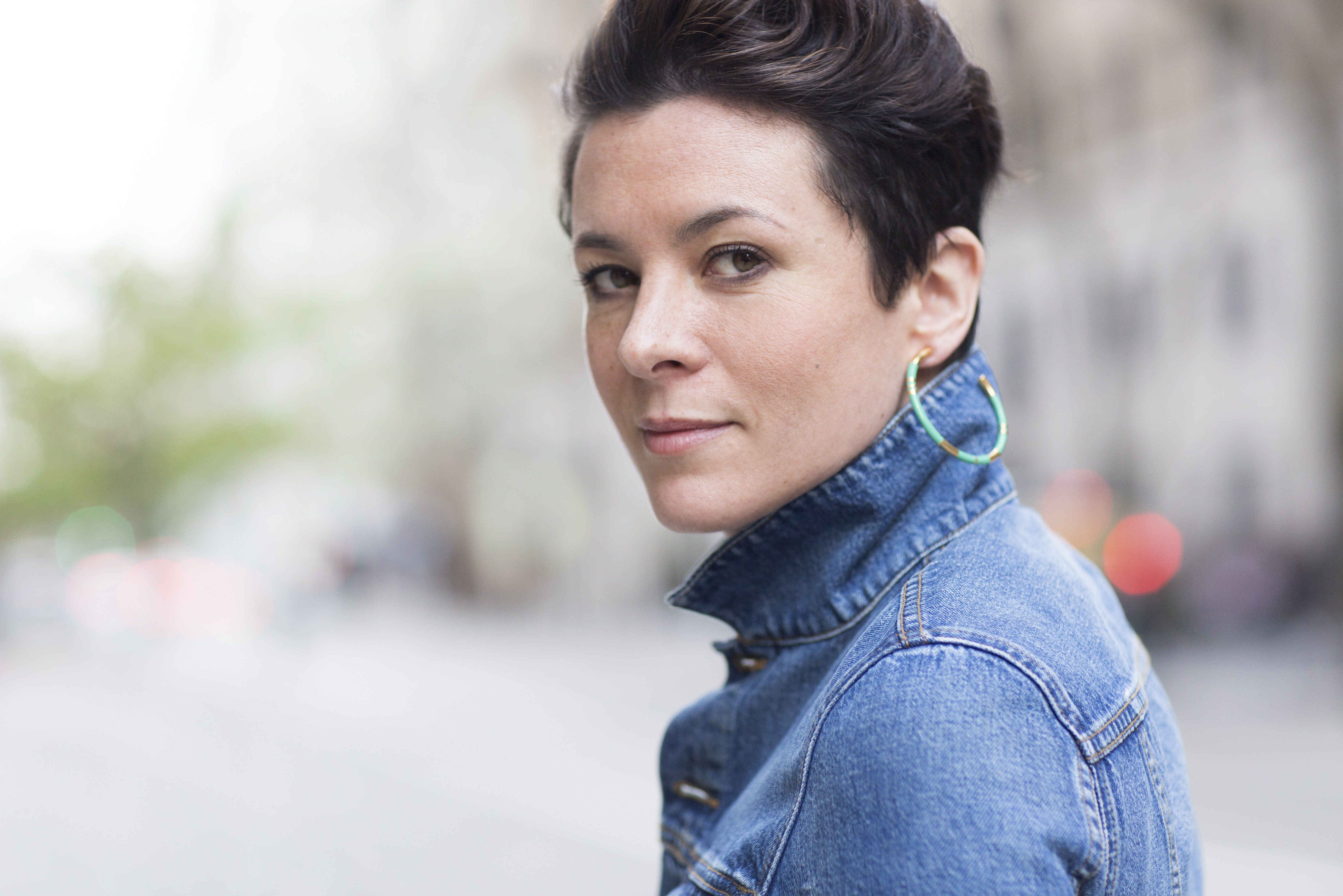 On the Red Couch with Style Icon Garance Doré