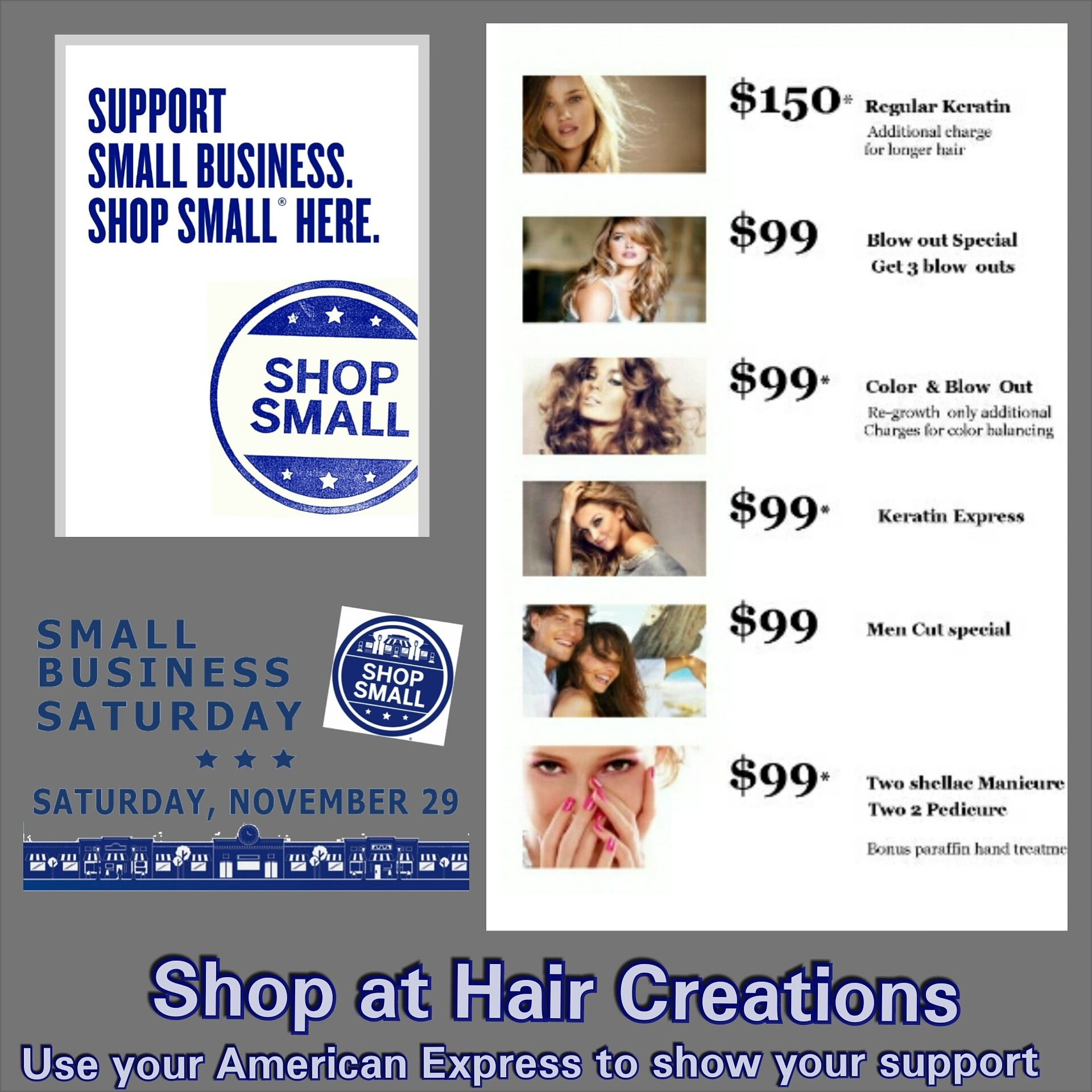 #shopsmall support small businesses