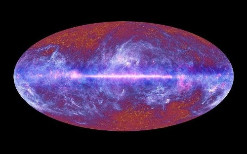 Did the Big Bang create a parallel universe where time goes backwards?