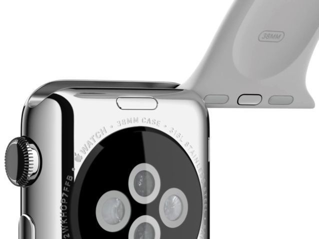Apple Watch's interchangeable band mechanism is now patented