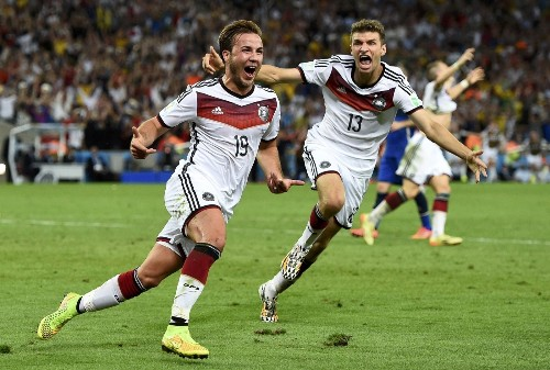 Germany Wins World Cup on Late Goal