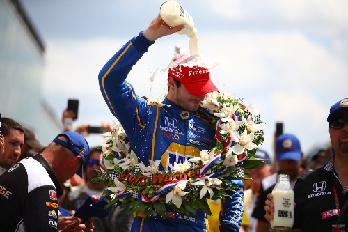 Rookie Rossi Wins 100th Indy 500: Pictures