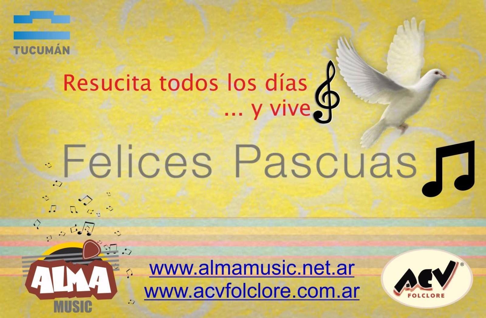 """#FelicesPascuas """"Resucita todos los días... y vive"""""""