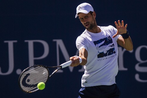 Djokovic not worried about blisters with the US Open afoot