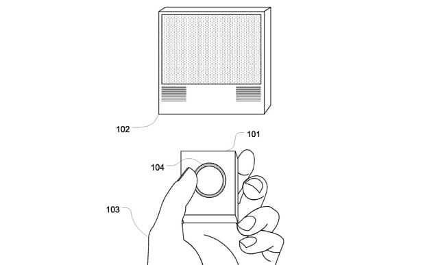 Apple patents Apple TV remote with Touch ID