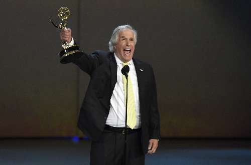 Henry Winkler wins Emmy 42 years after first nomination