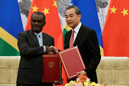 China's Pacific influence grows as it signs up new friend in Solomon Islands
