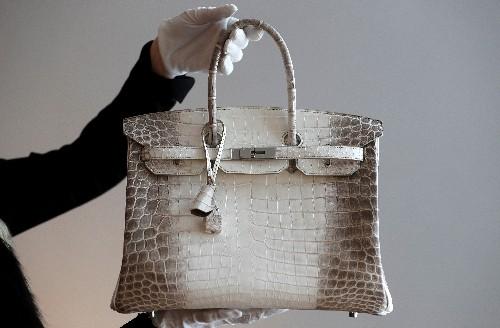 Hermès brille au 1er trimestre, porté par la Chine et la maroquinerie