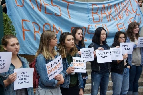 College's Break With Climate Change Deniers Riles Debate Over Divestment Strategies