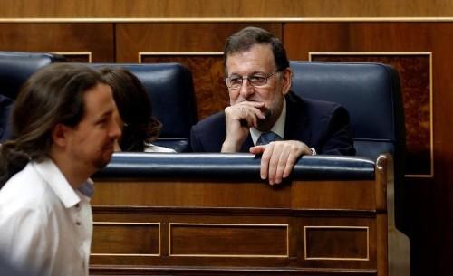 Podemos registra una inviable moción de censura contra Rajoy