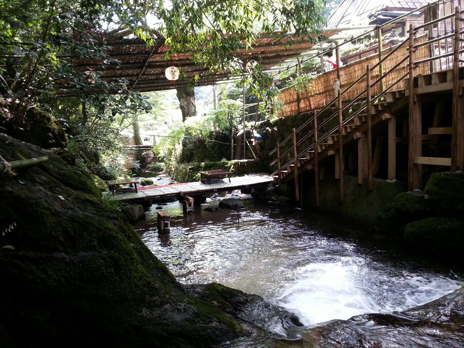 Romantic lunch in Hifune. Thanks Masashi! ♡