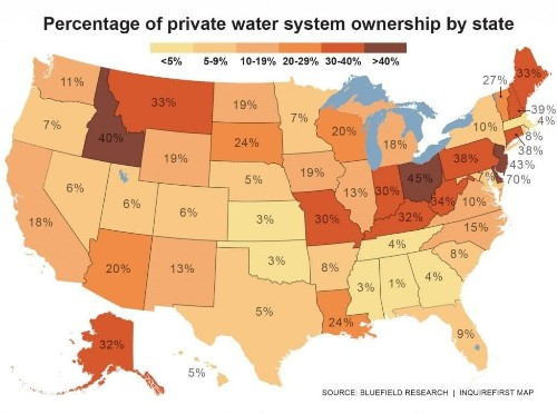 Towns sell their public water systems — and come to regret it