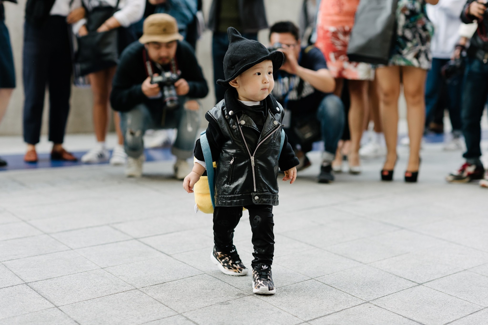 Tiny Street Style Stars at Seoul Fashion Week