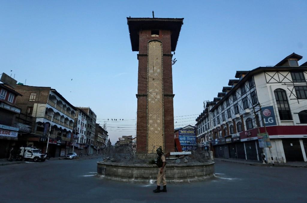 India keeps tight lid on Kashmir on anniversary of revoking semi-autonomy