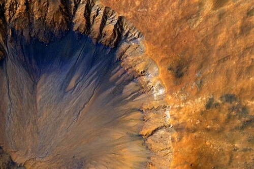 Water Is Flowing on Mars