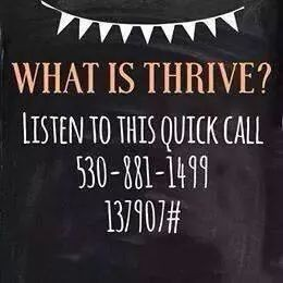 Who's ready to get their THRIVE on?!