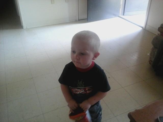 My Little grandson Brennan - Magazine cover