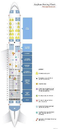 New Airplane Seating Chart Makes Summer Travel A Lot Less Comfortable