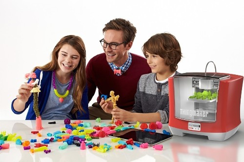 Mattel Unveils ThingMaker, A $300 3D Printer That Lets Kids Make Their Own Toys – TechCrunch