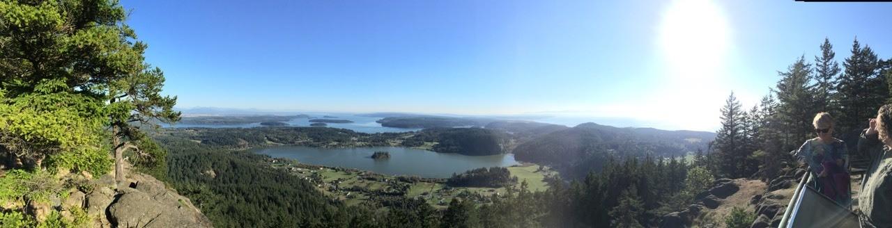 View from Mount Eire, Washington
