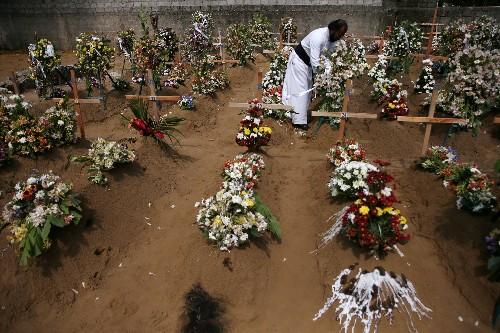 Sri Lanka reduz saldo de mortes devido a dificuldade de identificação de corpos