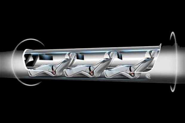 This is how the world's first Hyperloop might actually look