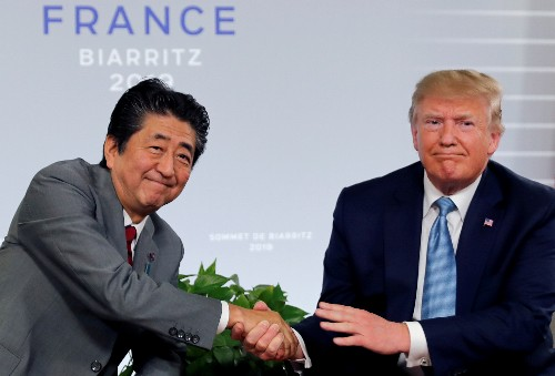 Trump says U.S. reaches trade deals with Japan, no word on cars