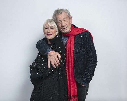 Helen Mirren, Ian McKellen relish roles in 'The Good Liar'