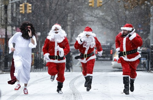 SantaCon in Pictures
