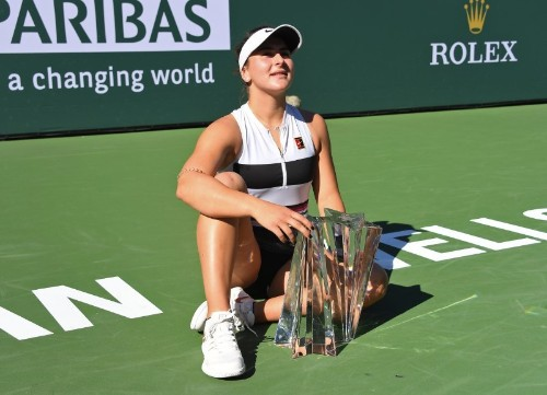 Tennis: Andreescu a champion in her mind and on the court