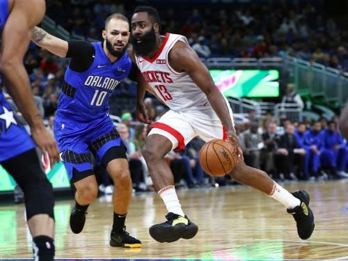 NBA roundup: Harden's 54 carries Rockets