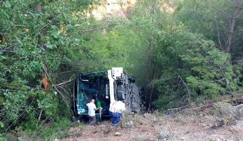 Twenty-two Poles injured after bus crash in southern Turkey