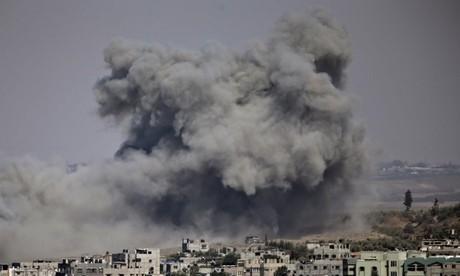 Gaza civilian death toll raises questions among military training experts