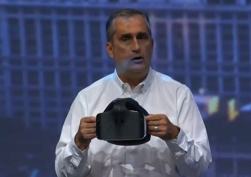 Intel shows off all-in-one Project Alloy virtual reality headset