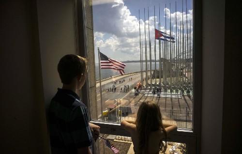 Kerry Reopens US Embassy in Havana: Pictures